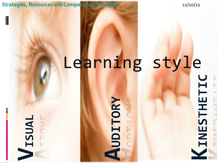 11/10/11 Learning style