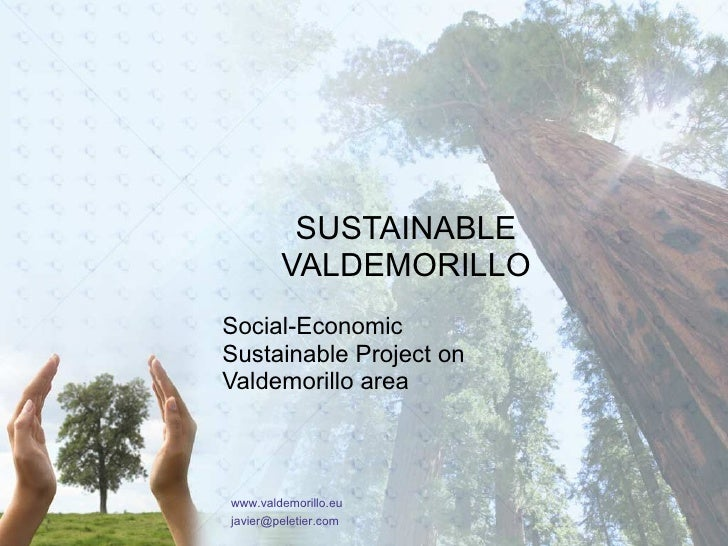 Valdemorillo Sostenible – Sustainable  Valdemorillo