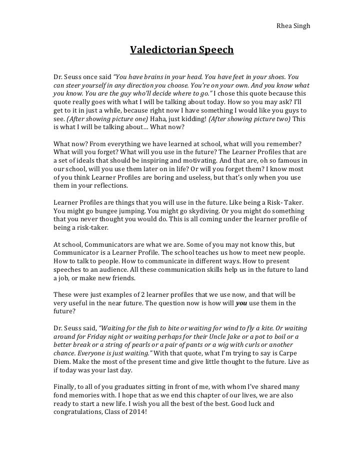 Graduation Essay Graduation Speech Example Template Graduation