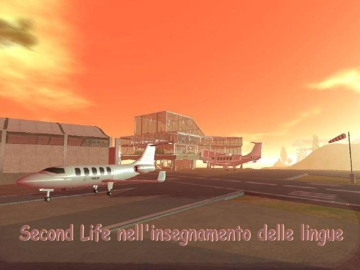 Second Life nell'insegnamento delle lingue