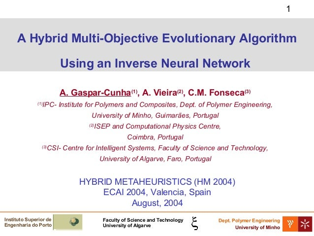 Neural Networks and Genetic Algorithms Multiobjective acceleration