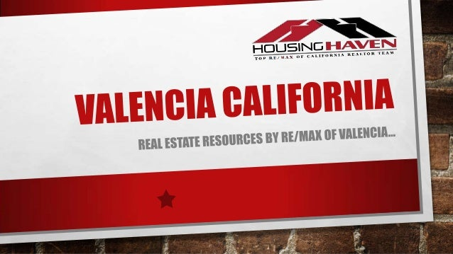 Valencia real estate resources by Remax of Valencia