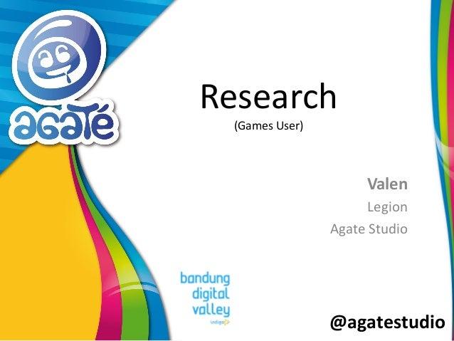 @agatestudio Research (Games User) Valen Legion Agate Studio