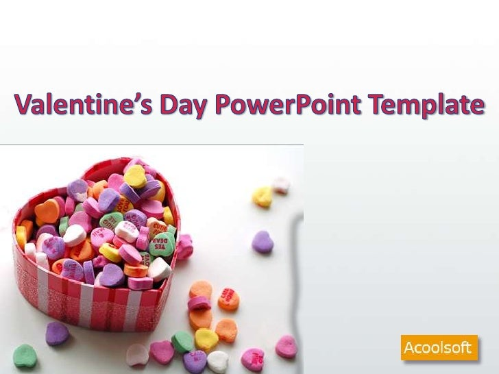 Valentine's Day PowerPoint Template<br />