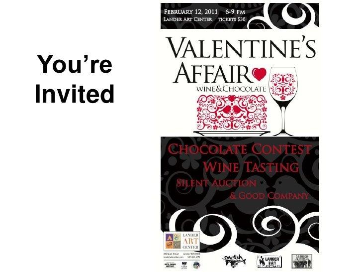 Valentine's Affair Silent Auction