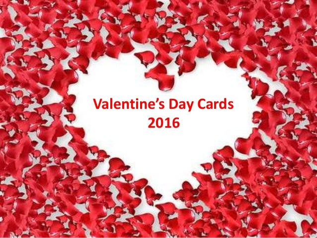 Valentines Day Cards 2016