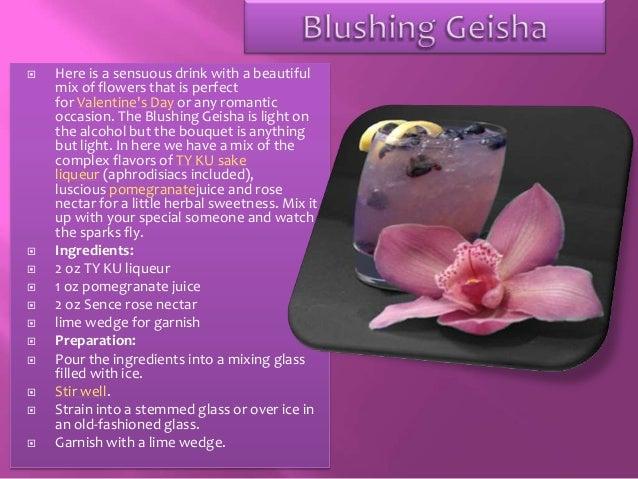 The Blushing Geisha is Light