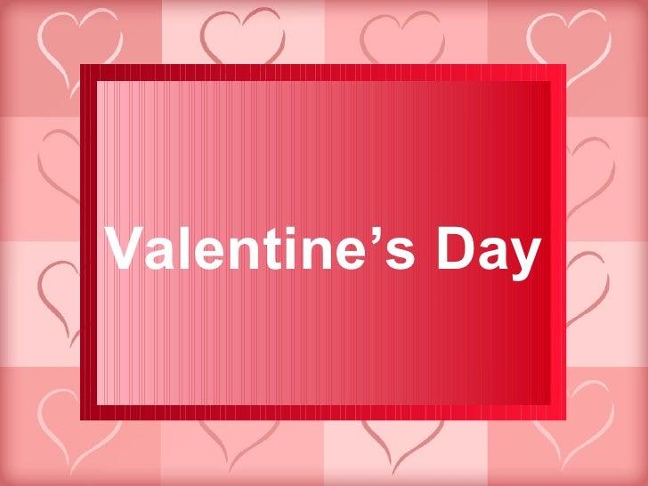 Valentines Day PowerPoint Presentation