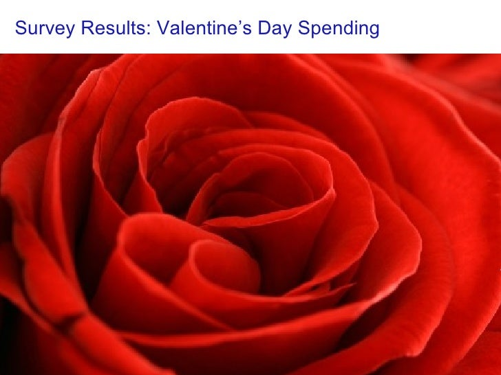 Valentine's Day Spending Survey (2008) from Iwillteachyoutoberich