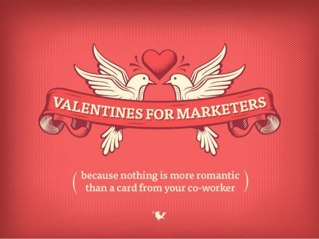 Valentines for Marketers to Share