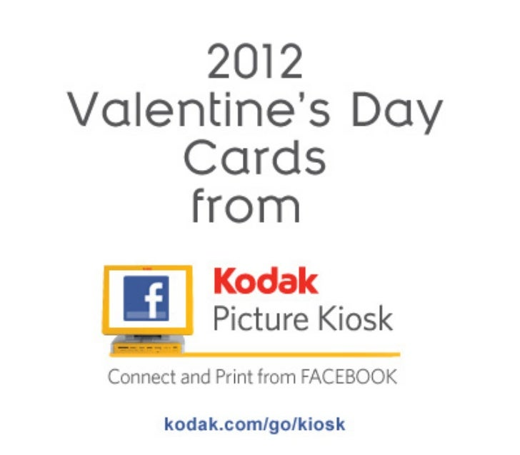 Valentine's Cards from KODAK Picture Kiosk