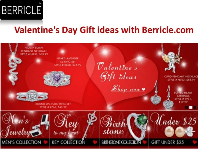 Valentines Day Gift ideas with Berricle.com