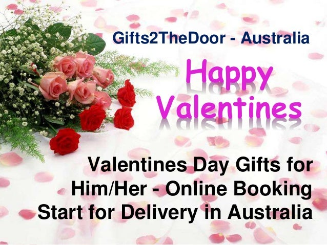 Valentines Day Gifts for Him and Her - Gifts2theDoor Australia