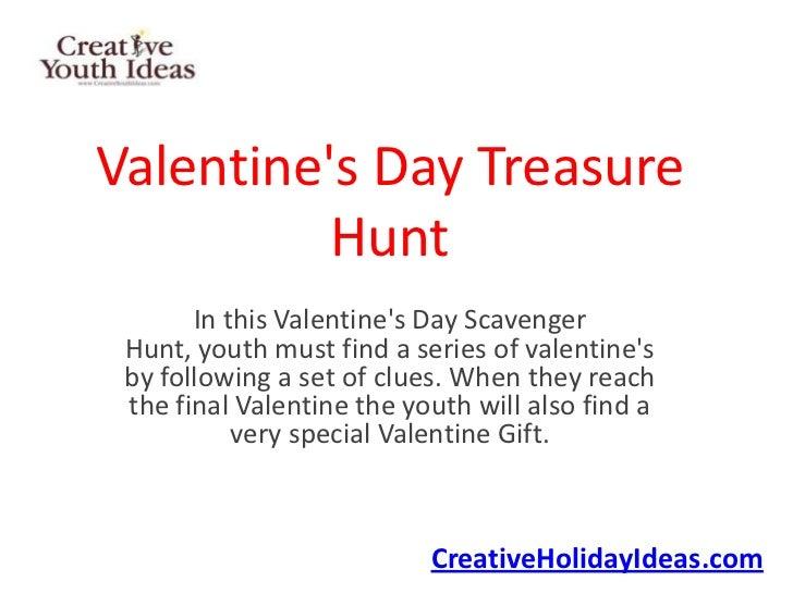 Valentine's Day Treasure Hunt