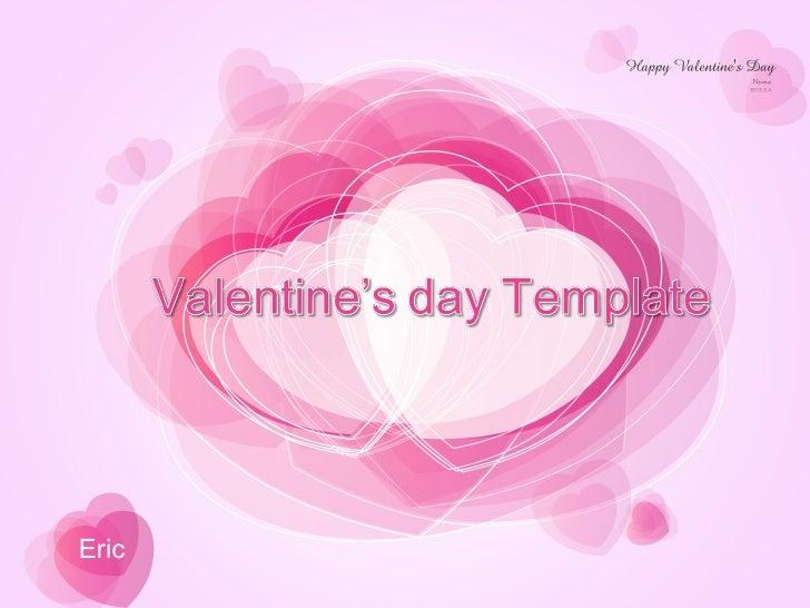 Valentine's day PowerPoint presentation