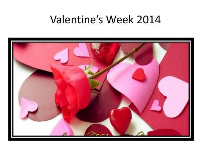 Valentine's Week 2014