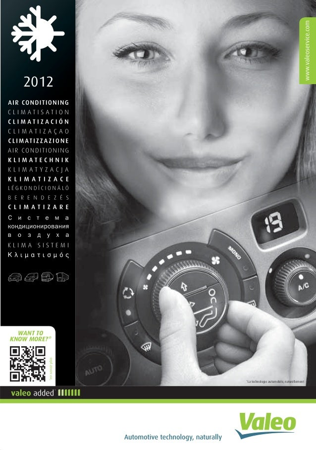 Valeo Air Conditioning 2012 955580 catalogue