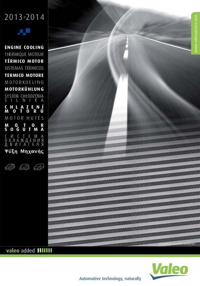 Valeo Engine Cooling 2013 supplement catalogue 955606