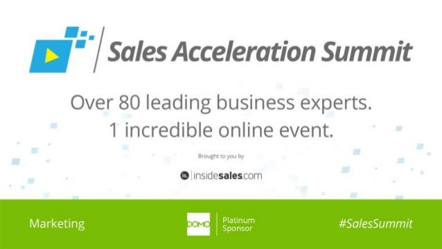 #SalesSummit | @ConversationAge
