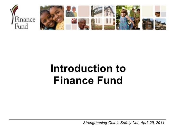 Introduction to Finance Fund