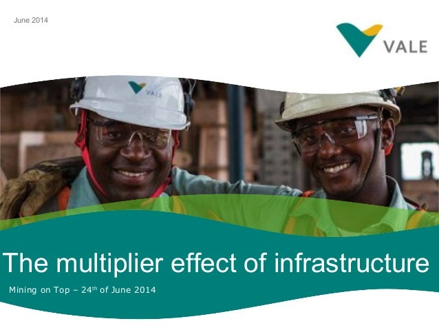 The multiplier effect of infrastructure June 2014 Mining on Top – 24th of June 2014