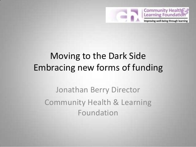 Jonathan Berry 2013 Future Focus Workshop: Social Enterprise