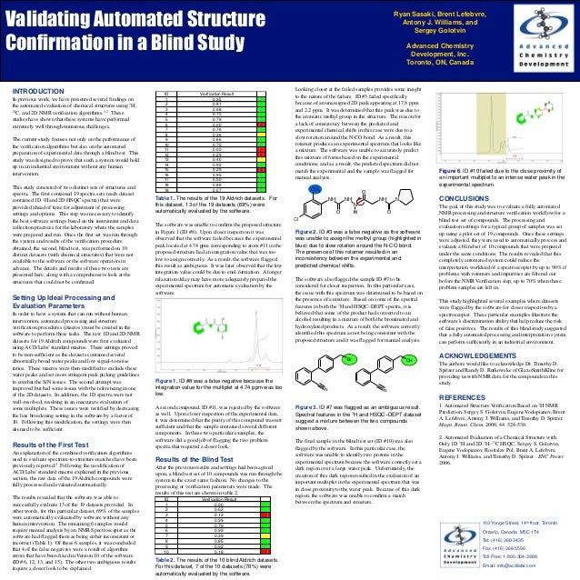 Validating Automated Structure                                                                                            ...
