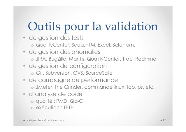 introduction  u00e0 la validation de logiciel