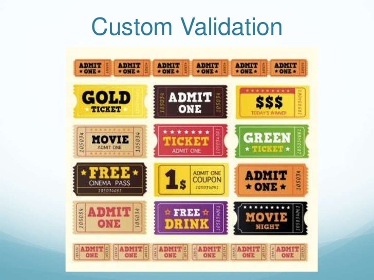 Custom Validation