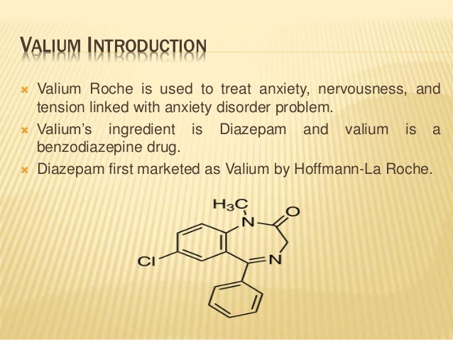 valium dose anxiety