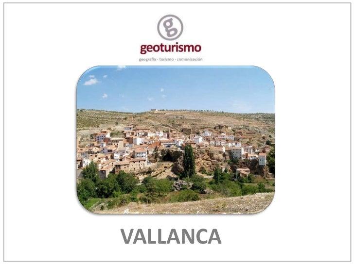 Geoturismo en Vallanca