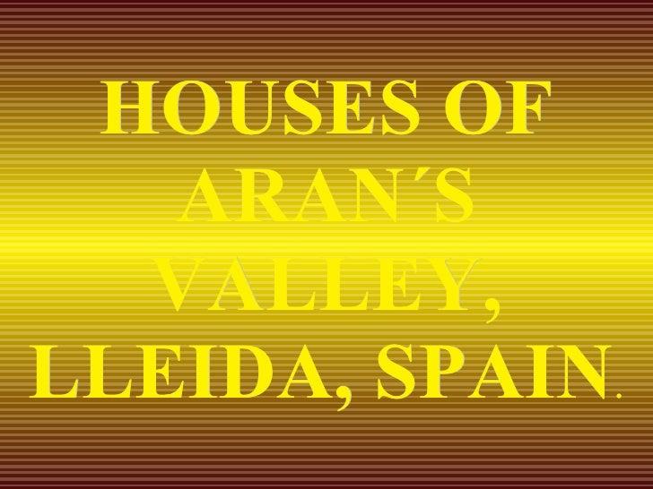 Valle De Aran EspañA