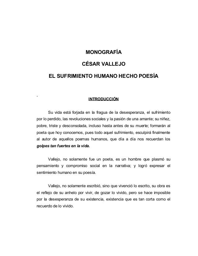 Cesar Vallejo contexto historico