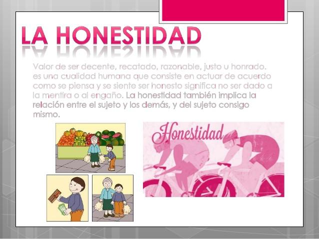 Valor, La Honestidad