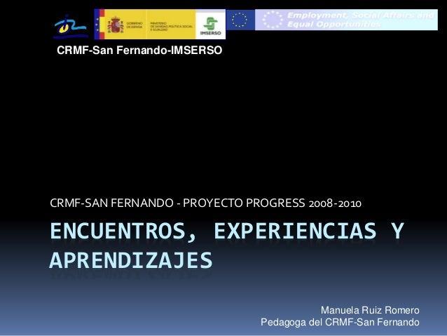Experiencias-Progress-CRMF-SF-10-Mrr