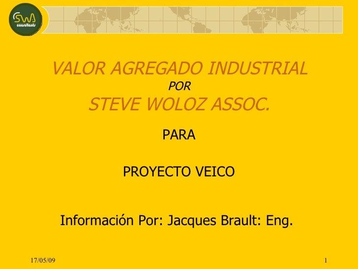 Valor Agregado Industrial
