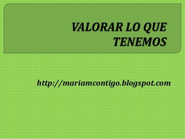 http://mariamcontigo.blogspot.com