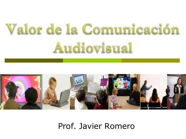 Prof. Javier Romero