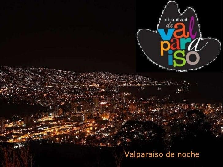 Valparaíso de noche