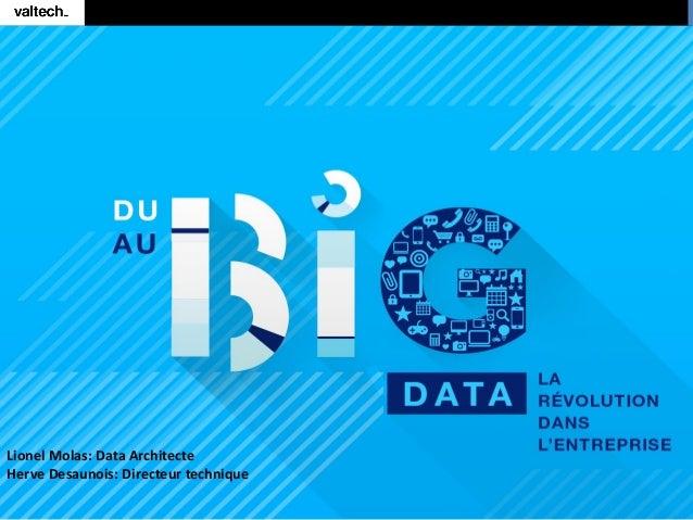 Lionel Molas: Data Architecte Herve Desaunois: Directeur technique