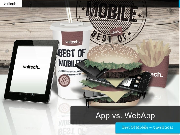 Valtech - App vs WebApp