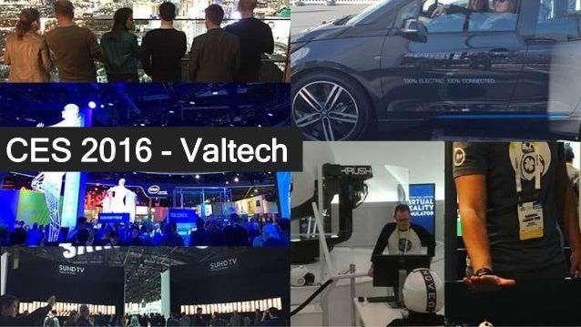 CES 2016 - Valtech