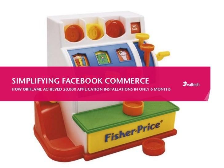 WEBINAR: Simplifying Facebook Commerce
