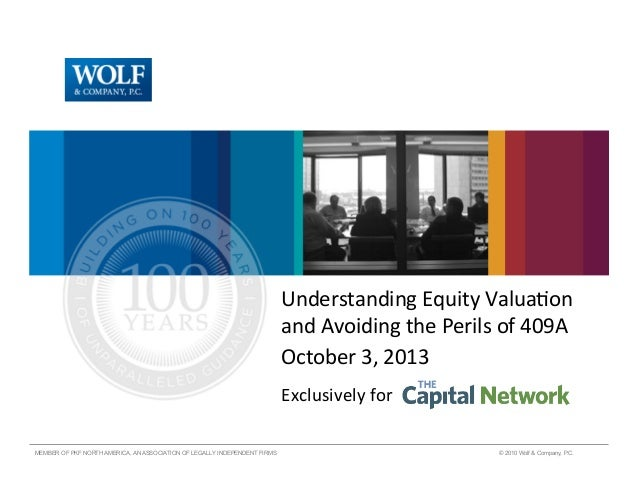 Know Your Valuation for Equity Compensation (And Avoid the Perils of 409A)
