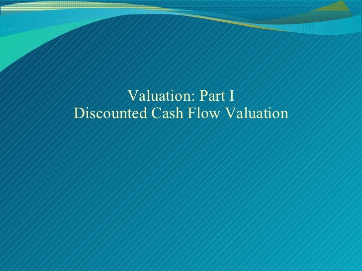 Valuation in merger & aquiseation