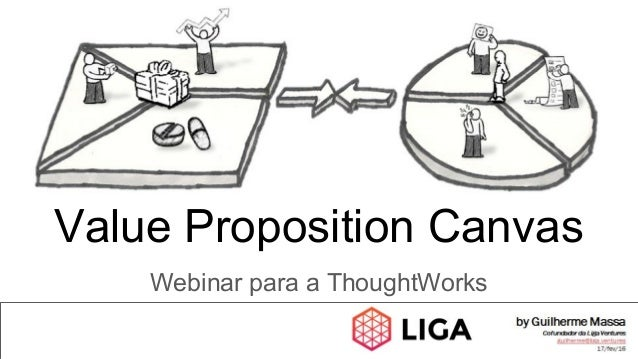 Webinar para a ThoughtWorks Value Proposition Canvas