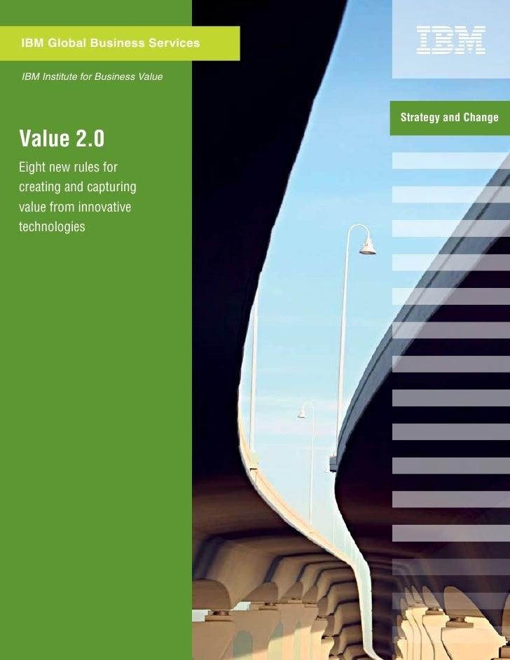 Value2.0. Capturing Value From Innovative Technologies