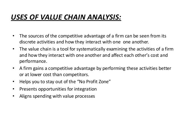 the value chain in my life 2 essay