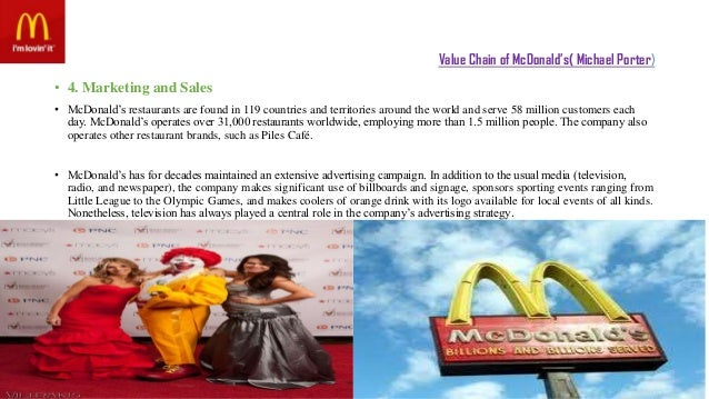 value chain for mcdonald