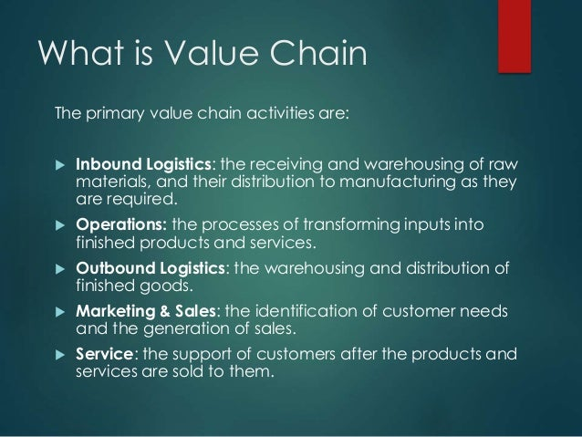 logistics and value chain analysis ford motor Ford motor company uses a materiality process to define  our value chain and impacts prioritizing key issues   our most recent materiality analysis,.